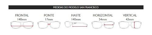 Oculos Solar Mormaii San Francisco M0031f0748 Polarizado EXCLUIR