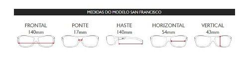 Oculos Solar Mormaii San Francisco M0031d5497 Branco Translucido - Lente Azul