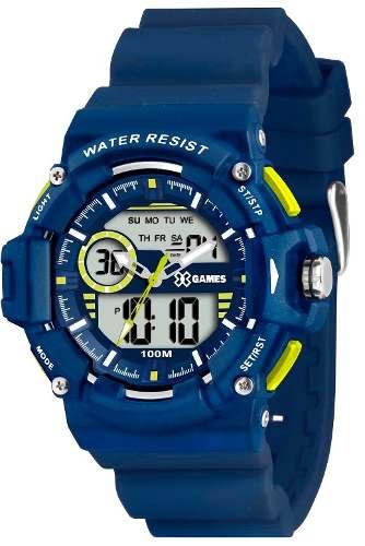 Relógio X Games Xmppa 152 46mm - Garantia 1 Ano
