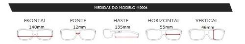 Oculos Solar Mormaii Santa Cruz Xperio  M0030a1489 - PRETO - LENTE VERDE POLARIZADO