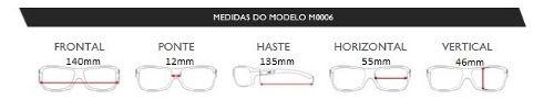 Oculos Sol Mormaii Santa Cruz M0030i3408 - AZUL ESCURO - LENTE DOURADA FLASH