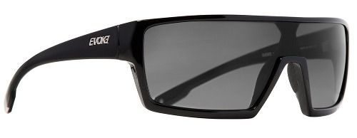 Oculos Sol Evoke Bionic Beta A01- PRETO FOSCO / LENTE CINZA DEGRADÊ