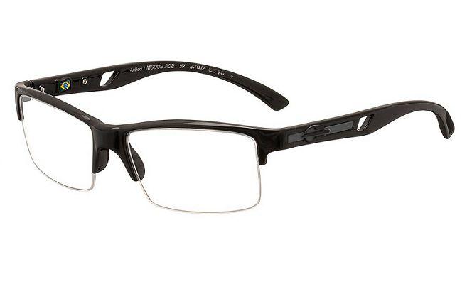 Armação Oculos de Grau Mormaii Artico 1 M6008A0257 Preto Brilhoso