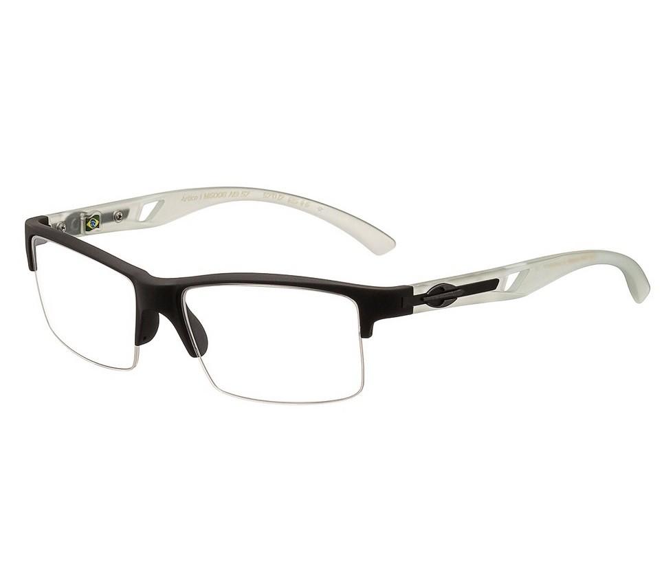 Armação Oculos de Grau Mormaii Artico 1  M6008A1957 - PRETO FOSCO