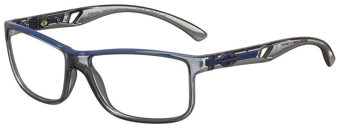 Armação Oculos de Grau Mormaii Atlantico M6007D2657 - CINZA TRANSLUCIDO
