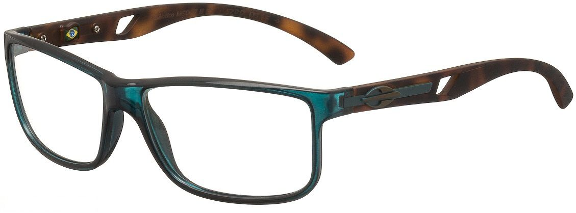 8c0076732f727 Armação Oculos de Grau Mormaii Atlantico M6007I1157 Petroleo - Loja ...