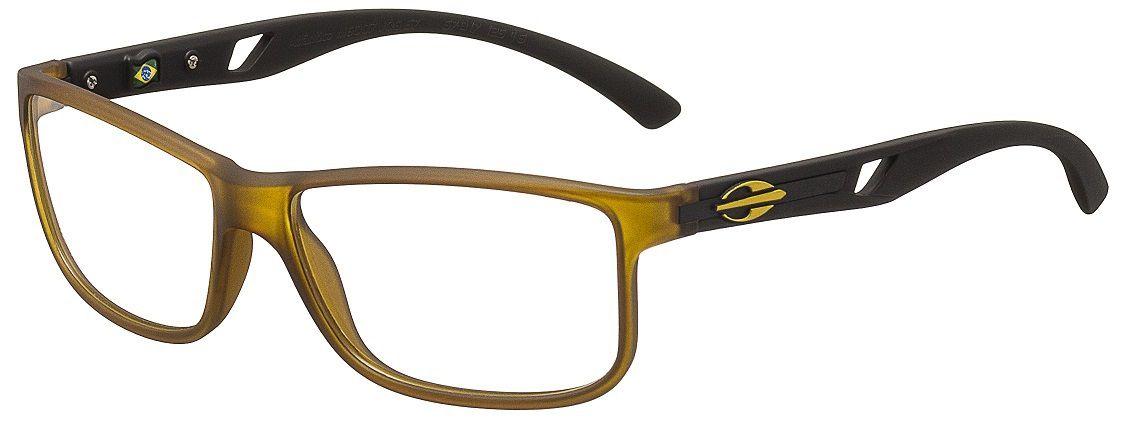 Armação Oculos de Grau Mormaii Atlantico M6007J0657 - AMARELO COM HASTES EM PRETO
