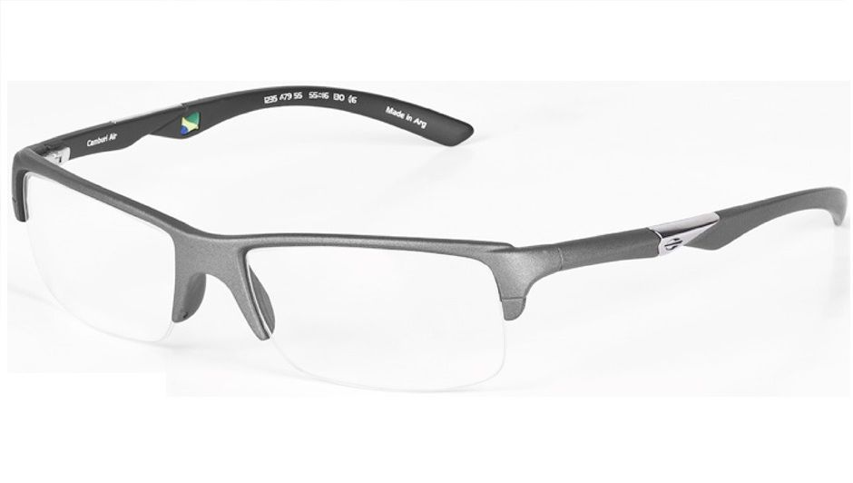 462024b38490d Armação Oculos De Grau Mormaii Camburi Air Cod. 123547955 - CINZA ...