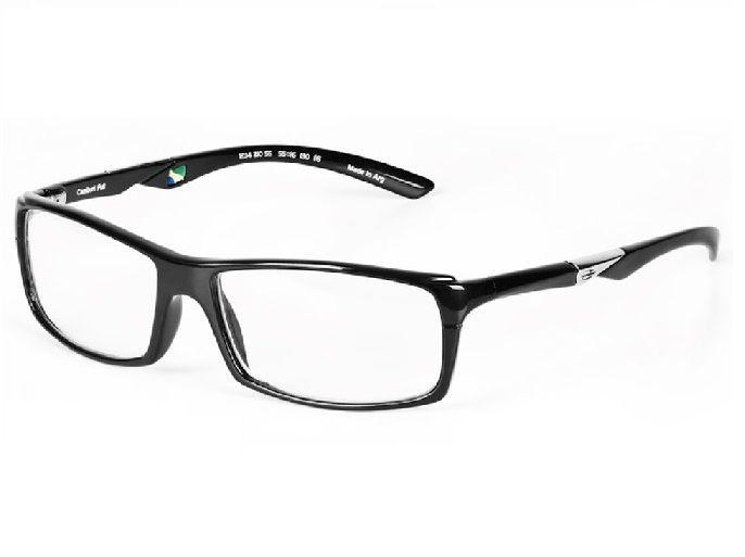 Armação Oculos De Grau Mormaii Camburi Full Cod. 123421055 - PRETO BRILHO