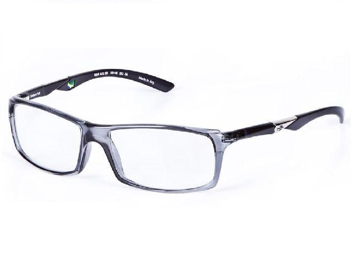 Armação Oculos De Grau Mormaii Camburi Full Cod. 123447255 / CINZA  E PRETO - TRANSLUCIDO