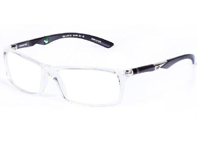Armação Oculos De Grau Mormaii Camburi Full Cod. 123447355/ TRANSPARENTE - PRETO TRANSLUCIDO