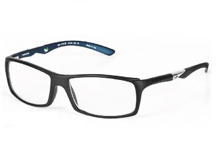 Armação Oculos De Grau Mormaii Camburi Full Cod. 123447455 / PRETO - AZUL PETROLEO