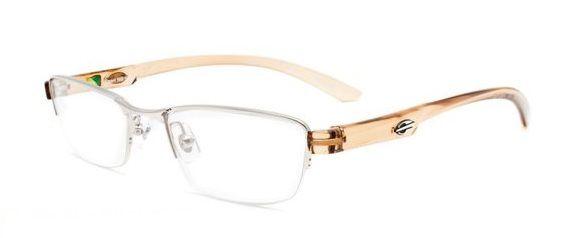 Armação Oculos de Grau Mormaii Capri NG VIII COD. 161338949