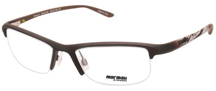 Armação Oculos de Grau Mormaii Floripa 11 Cod. 133111652 Marrom Fosco