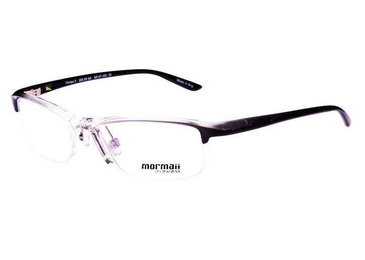 99e006d44 Armação Oculos de Grau Mormaii Floripa 11 Cod. 133111952 - TRANSPARENTE COM  HASTES EM CINZA E PRETO