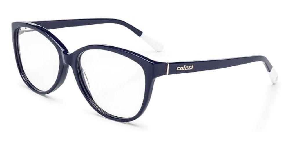 ArmaÇÃo oculos grau colcci azul marinho brilho loja jpg 993x502 Azul oculos  de grau 3c4ffbea04