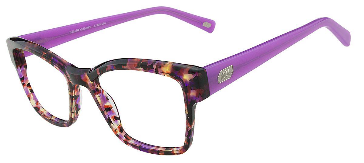 7766baa06 Armação Oculos Grau It Sabrina Sato Aline R35 C50 Lilas