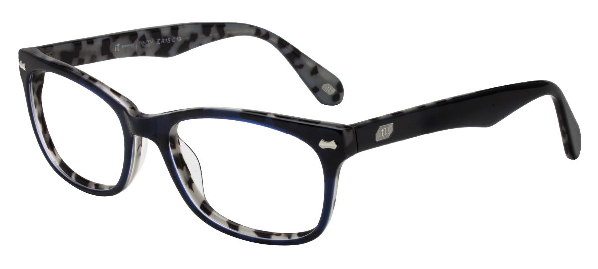 a99c69016 Armação Oculos Grau It Sabrina Sato Charm R15 C10 Azul
