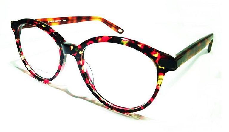 Armação Oculos Grau It Sabrina Sato R31 C3/2 Vermelho