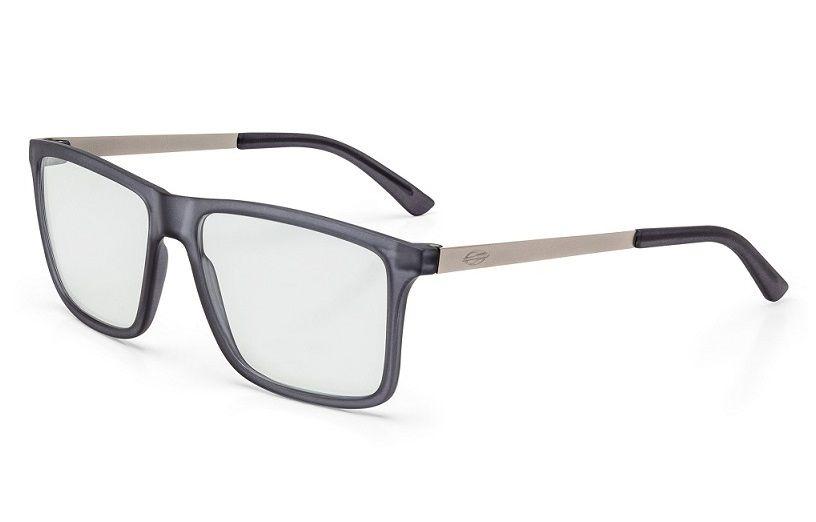 Armação Oculos Grau Mormaii Khapa M6045D5056 - CINZA COM HASTES EM METAL ac95c737a8
