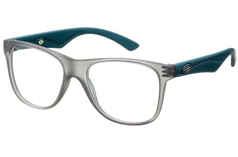 Armação Oculos Grau Mormaii Lances Cod. 120261253 Fume Verde