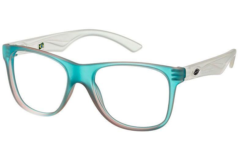 Armação Oculos Grau Mormaii Lances Cod. 120261353 Turquesa