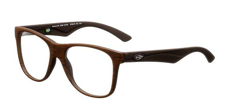 Armação Oculos Grau Mormaii Lances M1202J3153 Marrom