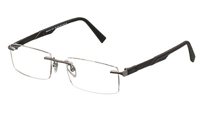 Armação Oculos Grau Mormaii M6004D0155 FIBRA CARBONO TITANIO Grafite