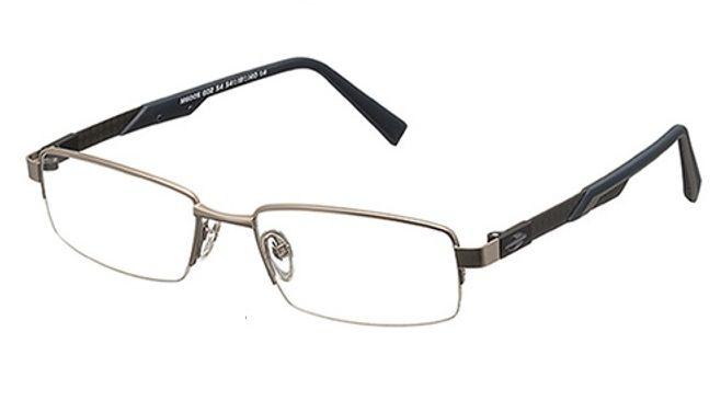 Armação Oculos Grau Mormaii M6005 G0254 Fibra Carbono Titanio Preto Azul
