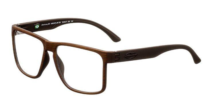 Armação Oculos Grau Mormaii Monterey RX M6039J3156 Marrom