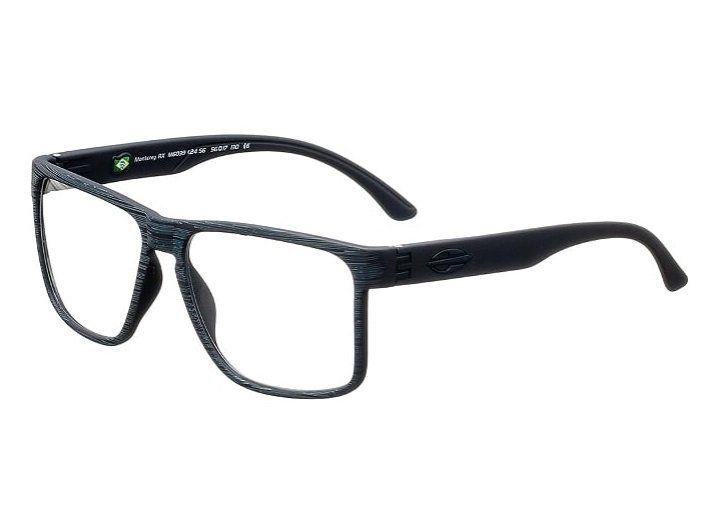 Armação Oculos Grau Mormaii Monterey RX M6039K2456 Azul Marinho Fosco
