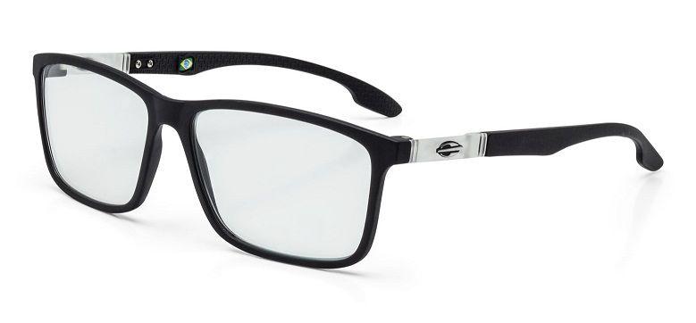 ffb281e26ee11 Armação Oculos Grau Mormaii Prana M6044A9455 Preto Fosco Cinza ...
