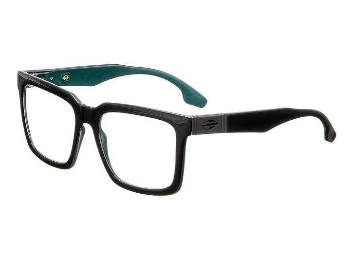Armação Oculos Grau Mormaii Sacramento Rx M6041A9153 Preto Verde