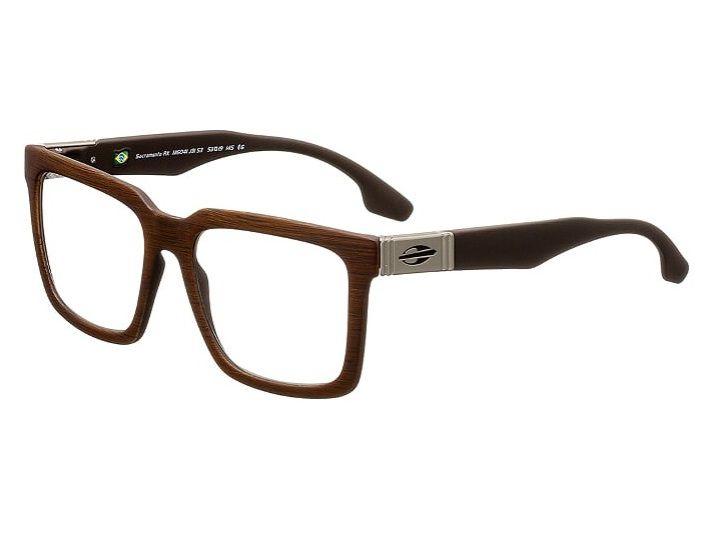 Armação Oculos Grau Mormaii Sacramento Rx M6041J3153 Marrom