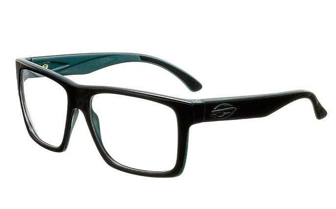 Armação Oculos Grau Mormaii San Diego RX M6037A9155 Preto Verde