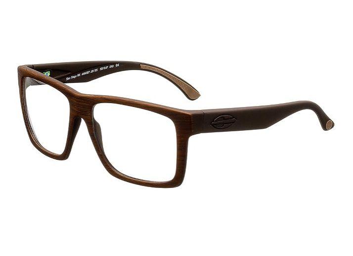 Armação Oculos Grau Mormaii San Diego RX M6037J3155 -  MARROM