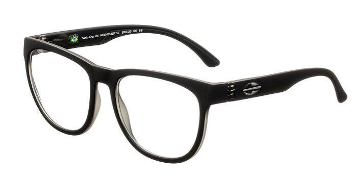 Armação Oculos Grau Mormaii Santa Cruz RX M6040A8755 - PRETO