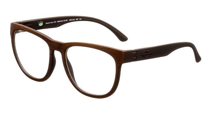 Armação Óculos Grau Mormaii Santa Cruz RX M6040J3155 - MARROM ESCOVADO