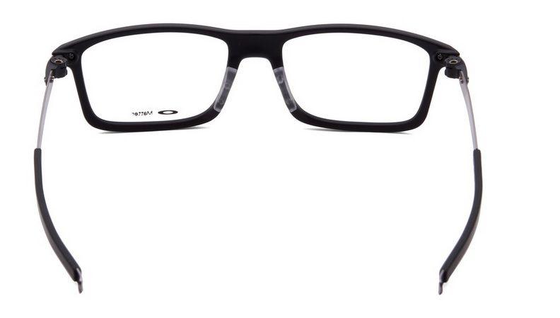 Armação Oculos Grau Oakley Pitchman Satin Black OX8050 0155