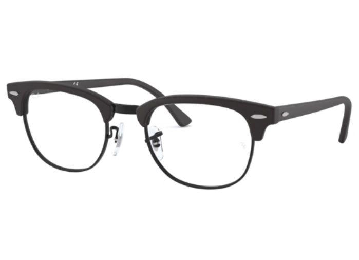 Ray-Ban RX6362 - Preto Fosco - 2509/55 Óculos de Grau na