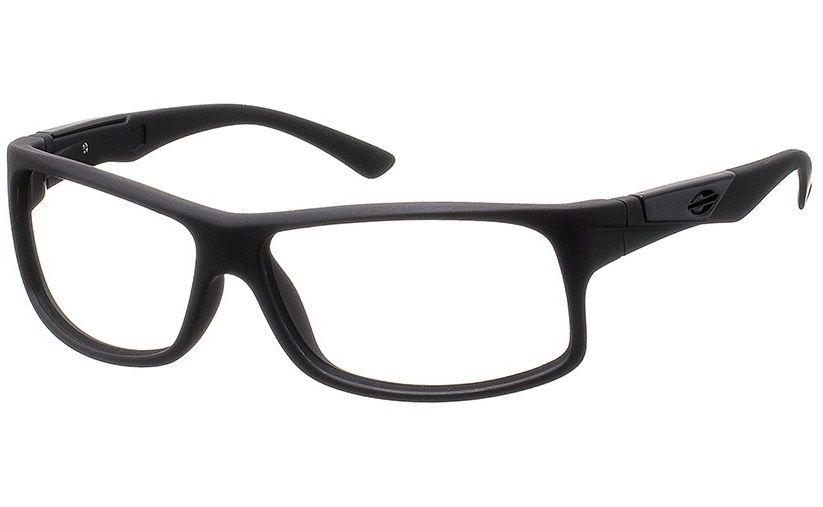 Armação Para Grau Oculos Mormaii Vibe Cod. 112797054 Preto Fosco