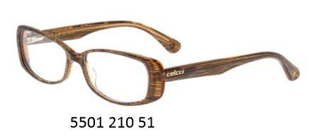 Armação Para Oculos De Grau Colcci 5501 Cod. 550199551 Marrom