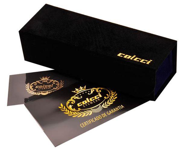 Armação Para Oculos De Grau Colcci 550798551 Bronze