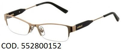 Armação Para Oculos De Grau Colcci 5528 Cod. 552800152 Dourado Preto