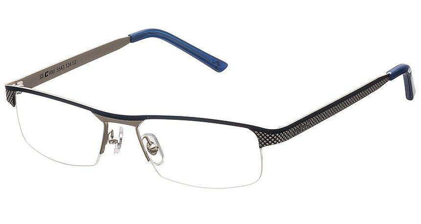 Armação Para Oculos De Grau Colcci 5543 Cod. 554312453 Prata Azul