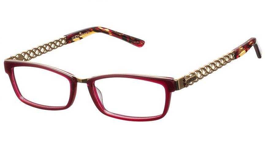 Armação Para Oculos De Grau Colcci 554582851 Vermelho Dourado