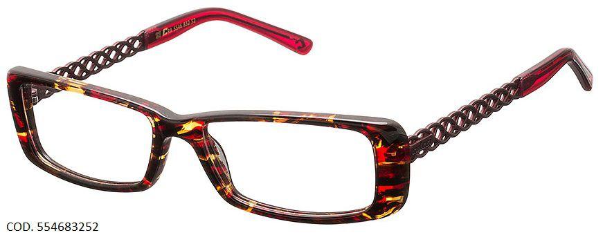 Armação Para Oculos De Grau Colcci 5546 Cod. 554683252 Turtle
