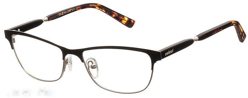 Armação Para Oculos De Grau Colcci 5547 Cod. 554767252 Preto Marrom