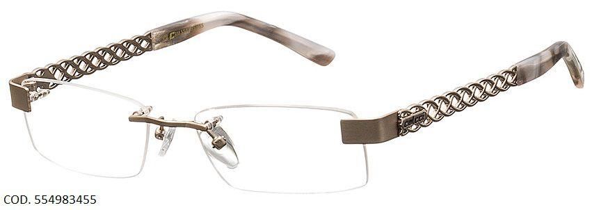 Armação Para Oculos De Grau Colcci 5549 83455 Dourado Pérola