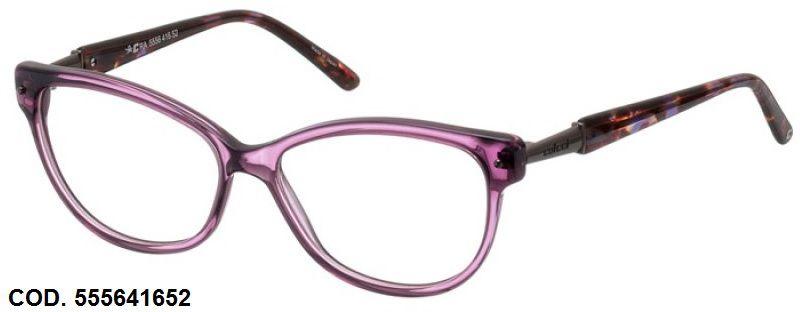 Armação Para Oculos De Grau Colcci 5556 Cod. 555641652 Lilás